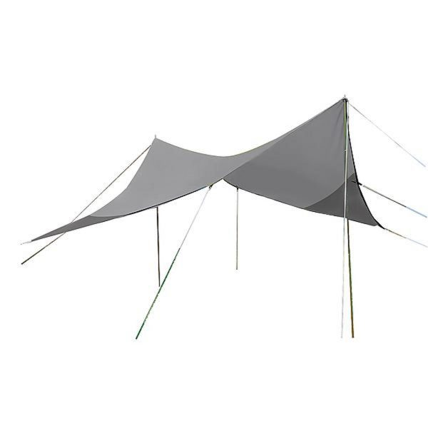 Bo-Camp Tarp Travel Plus ruit 4 Hoekig 3 x 3 meter