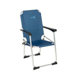 Bo-Camp Kinderstoel Copa Rio Safety Lock Ocean Blauw