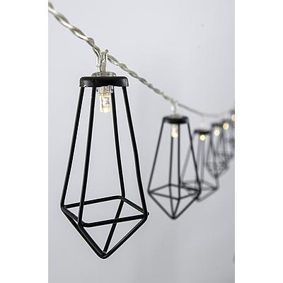 Bo-Camp Lichtslinger Lantaarn LED Zwart