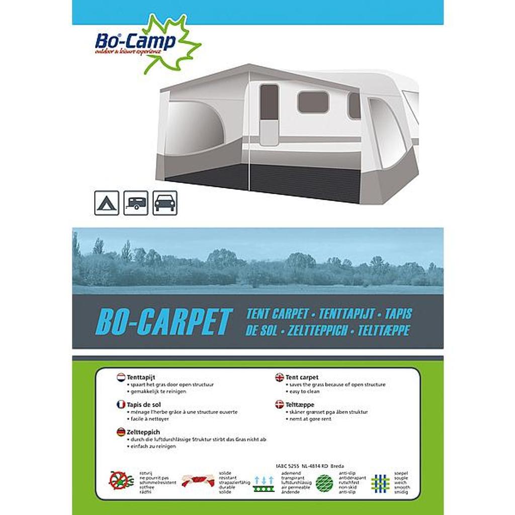 Tenttapijt 3 X 6 Meter.Bo Camp Tenttapijt Bo Carpet 3 X 6 Meter Antraciet