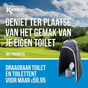 Kampa Draagbaar Toilet en toilettent