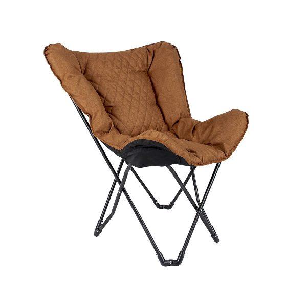 Bo Camp Industrial Vlinderstoel Himrod Clay