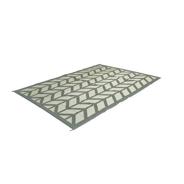 Bo Camp Industrial Chill Mat Flaxton Groen Large 270 x 200 cm