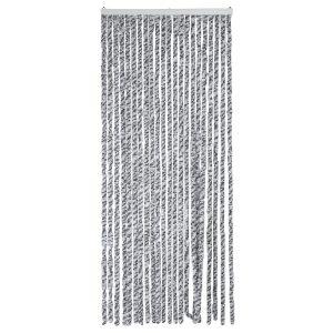 Arisol Vliegengordijn Kattenstaart 185 x 56 cm Antraciet/Grijs/Wit