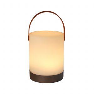 Human Comfort Mably Plus Wood Oplaadbare Outdoorlamp met bluetooth speaker